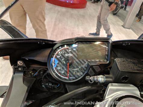 2018 chevrolet beat instrument cluster indian autos blog aprilia rs 150 instrument cluster at 2018 auto expo