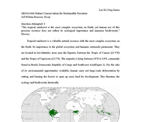 Essay On Biodiversity Conservation by Essay About Biodiversity