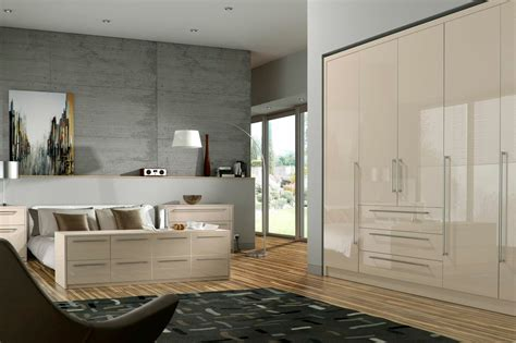 cream bedroom furniture odyssey cream gloss bedroom furniture proline cabinets ltd