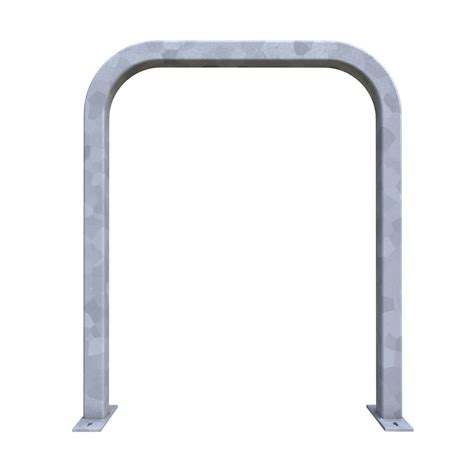 Dero Racks by Dero Staple Rack Galvanized Surface Mounted 2 Bike