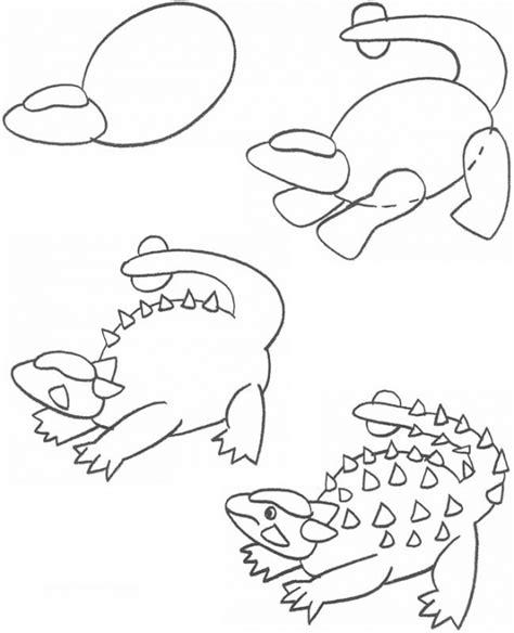 doodle dinosaur draw ruptor easy to draw dinosaur vitlt