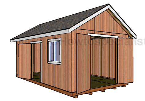 20 By 12 Shed by 12x20 Shed Plans Free Howtospecialist How To Build