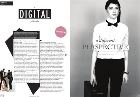 fashion magazine layout design inspiration v ybg chr ko