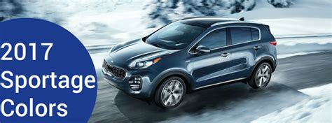 Kia Hiring 2017 Kia Sportage Color Options