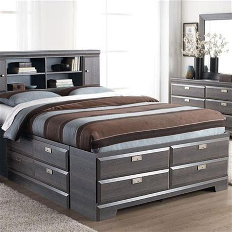 17 best images about beds with bookcase headboards on