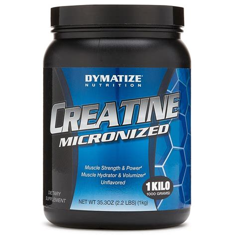 Suplemen Creatine creatine supplement dymatize creatine monohydrate