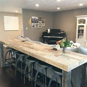 Kitchen Bar Top Table Best 25 High Top Tables Ideas On Diy Pub