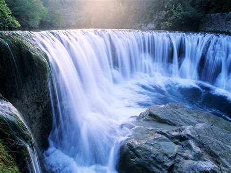 wallpaper 3d waterfall august 2011 nature wallpapers