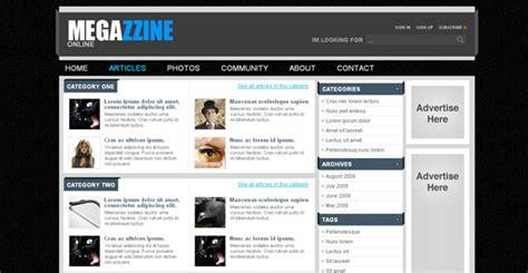 news portal template free megazzine free news portal template chocotemplates