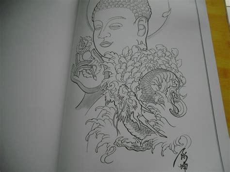 japanese tattoo design book top tattoo flash japanese style sketch book 16 quot dragon koi