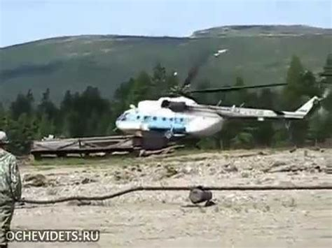russian helicopter crash caught on camera news live video