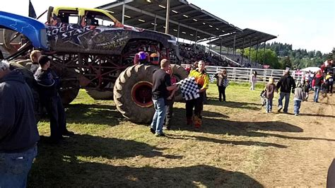 monster truck show colorado monster truck show pit party cowlitz co youtube