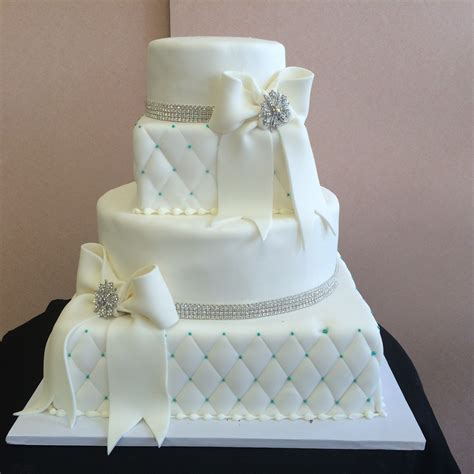 Contemporary Wedding Cakes ? Sal & Dom's Pastry Shop