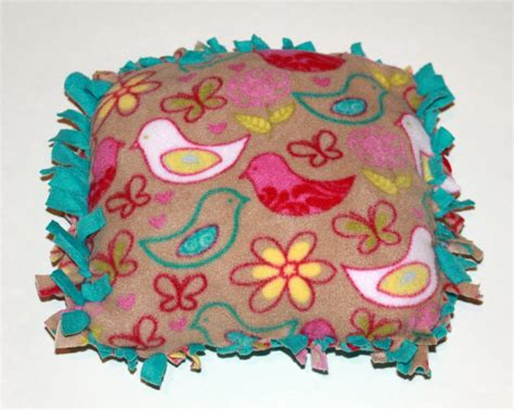 No Sew Fleece Pillow by American Doll For Pennies
