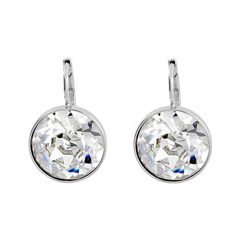 swarovski pierced earrings p 587 swarovski clear pierced earrings 883551 ebay