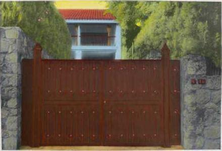 maria muller handcolored photographs :: spanish gate, no. 16
