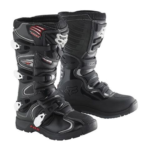 fox racing boots fox racing youth comp 5 boots revzilla