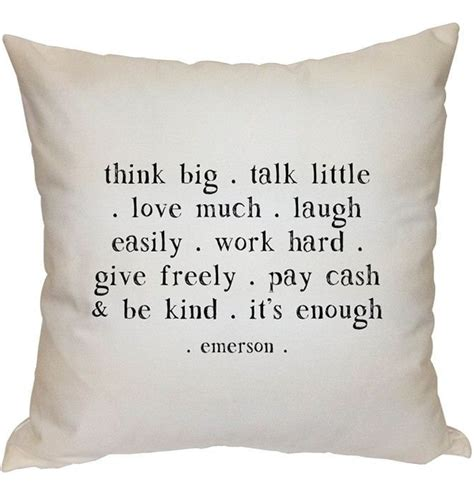 Pillow Quote by Pillow Quotes Quotesgram