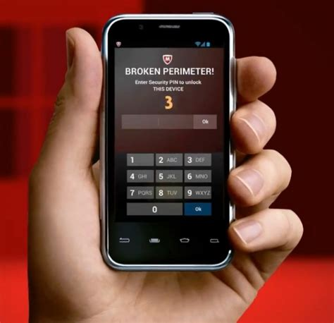 mcafee mobile security pin mcafee mobile innovations helps you hang onto your devices