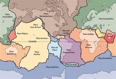 foto de las placas tectonicas foto de las placas tectonicas newhairstylesformen2014 com