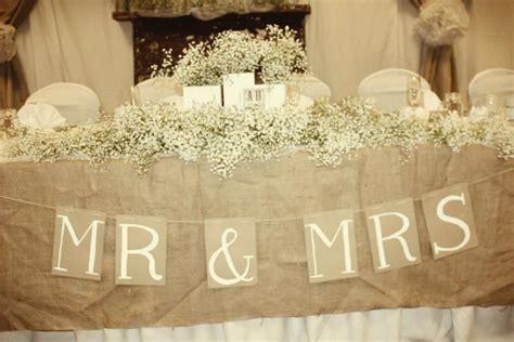 Rustic, Vintage Wedding .Head Table   Rebecca Oberle