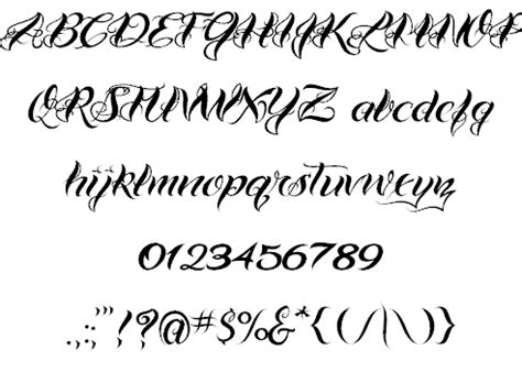 15 best tattoo fonts for ink lovers