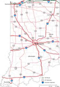 Indiana State Road Map by Map Of Indiana Related Keywords Amp Suggestions Map Of
