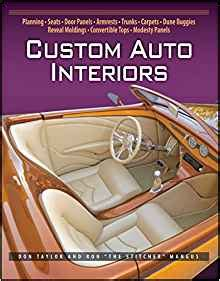 car upholstery books custom auto interiors don taylor ron mangus