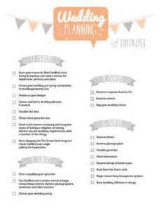 Wedding planing checklist from sheknows