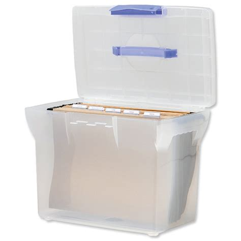 plastic file box document moved