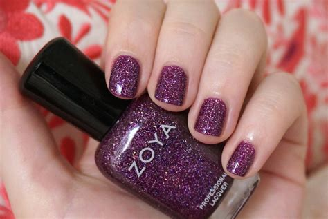 best zoya colors best holographic nail through the looking glass
