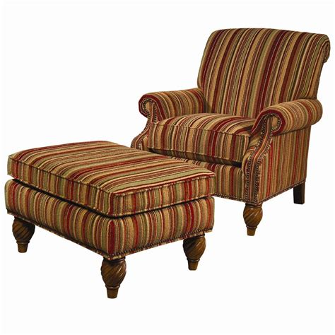yellow flower pattern lounge chair with ottoman wonderful large lexington lexington upholstery wallace upholstered