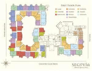 Oakmont Floor Plan Floor Oakmont Of Segovia