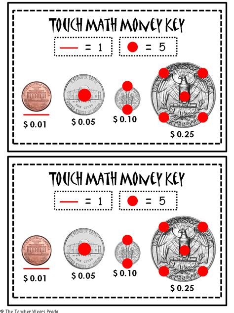 Touch Math Printable Worksheets by Free Touchpoint Math Worksheets Abitlikethis