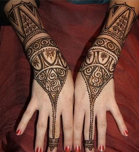 amazing henna design tattoo for girls
