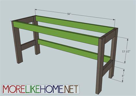 2x4 Desk by Pdf Desk Plans 2x4 Plans Free