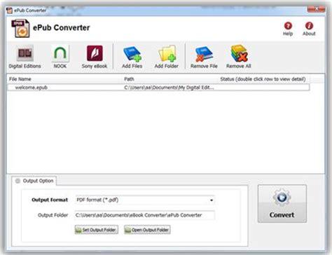 best epub editor top 10 tools to convert epub to pdf for free