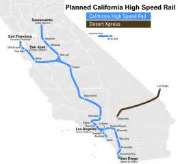 high speed rail california map finney s july 7 2012 page 250 california high