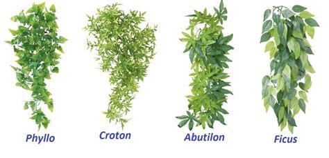 reptile terrarium vines vivarium ornament artificial plant