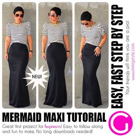 mermaid maxi tutorial available now easy for beginners