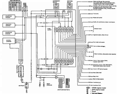 wiring diagram 96 nissan hardbody up 96 nissan