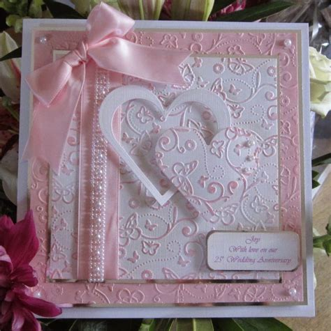 Wedding Anniversary Card Handmade by Best 25 Handmade Anniversary Cards Ideas On