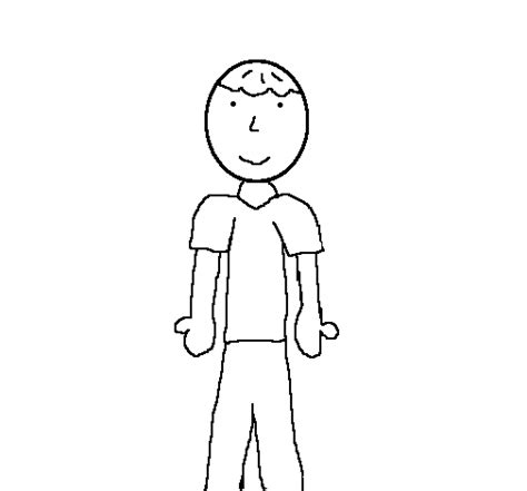 little boy 2 coloring page coloringcrew com