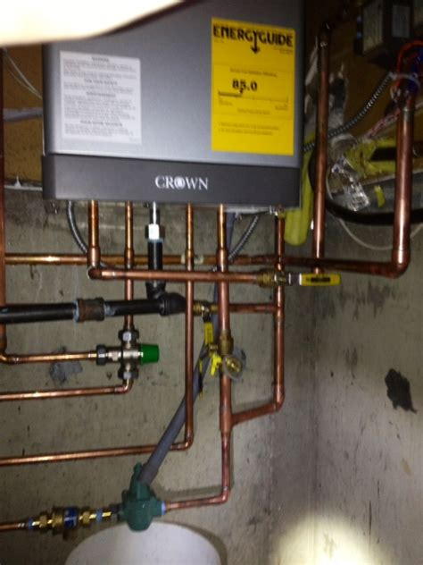 Crown Plumbing And Heating - steven wood plumbing heating llc about us