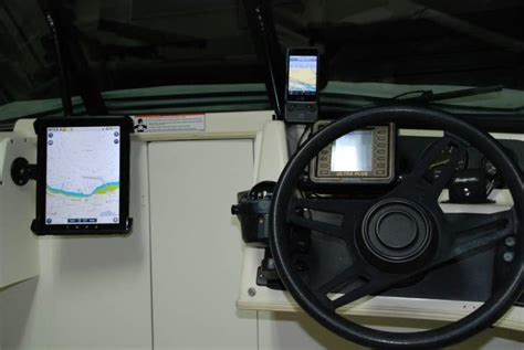 boat gps for ipad show me how you mounted your ipad tablet on your boat