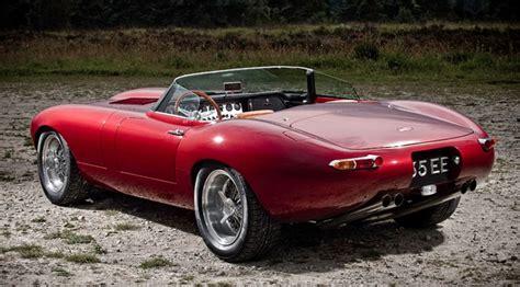 jaguar e type eagle speedster eagle builds a new e type speedster by car magazine