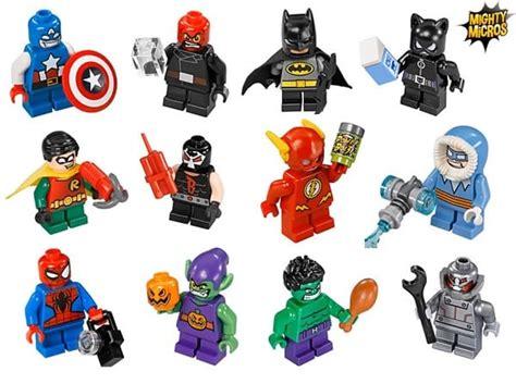 Calendrier X Fighters 2016 Brick Heroes Lego Heroes Marvel Dc Comics