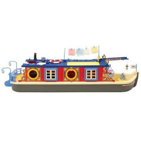 cartoon canal boat buy sylvanian families waterside canal boat from our
