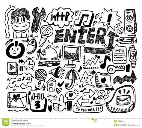 doodle 4 official website web doodle stock images image 17261514