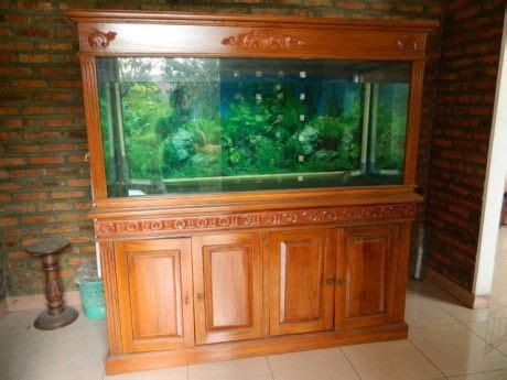 Meja Aquarium Kayu Minimalis 71 best images about http moeryamebeljepara on